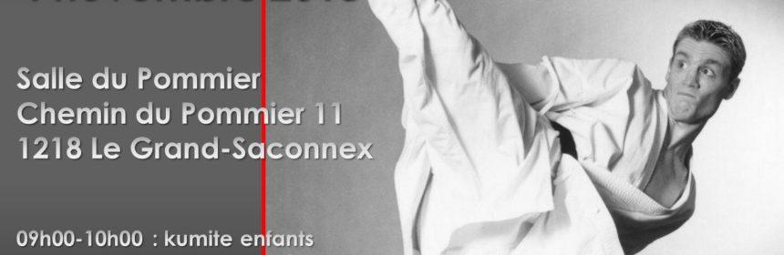 Affiche du stage Junior Lefèvre 4.11.2018